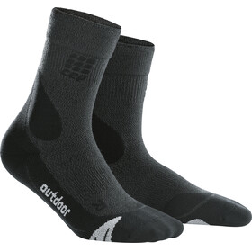 cep Dynamic+ Outdoor Merino Mid-Cut Socks Men grey/black